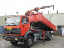 camión Mercedes 2031 Kipper Effer Crane V6 Top Condition
