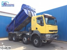 camión Renault Kerax 420 8x4, Manual, Airco, Steel suspension,