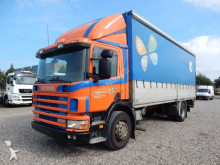 camion Scania 94D/230 4x2 Pritsche + Plane