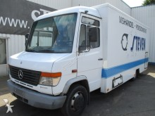 camion Mercedes 814 D, Vario, Sales Truck, Spring Suspension