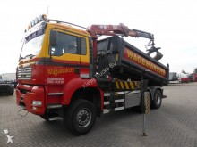 camion MAN 28.430 BB 6X6 MANUAL CRANE