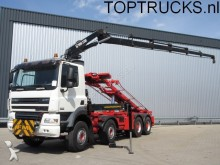 camion DAF CF 85.460 8x4 EURO 5 HIAB 220-5 + CONTAINER SYST