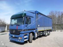 camion Mercedes ACTROS 2535 6X2 INTARDER, ALZA/ABBASSA-COPRI/SCOPRI 7.2 METRI