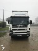 camion cassone centinato alla francese Scania