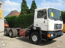 camion MAN 26.292 6x4 Chassi Doppel-H Blatt/Blatt+Hydraulik
