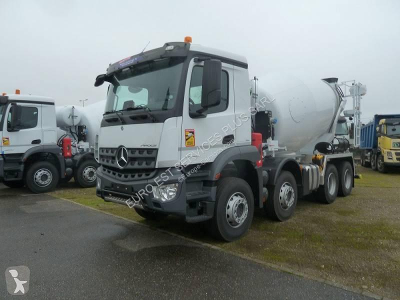 new mercedes arocs concrete mixer truck 3240 n 2043167. Black Bedroom Furniture Sets. Home Design Ideas