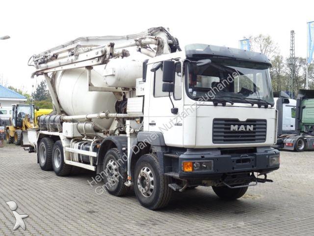 camion man b ton toupie malaxeur nordrhein westfalen 16 annonces de camions. Black Bedroom Furniture Sets. Home Design Ideas