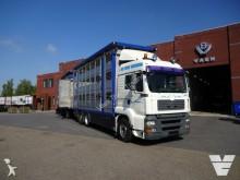 camion MAN TGA 26-480 3 deks veetransport MENKE COMBI