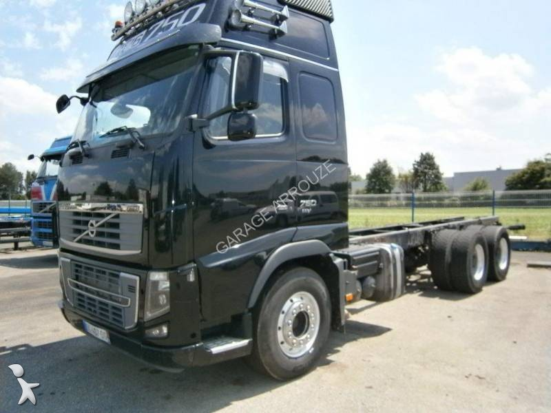 used volvo fh16 chassis truck 750 euro 5 n 2047822. Black Bedroom Furniture Sets. Home Design Ideas
