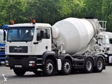camion béton malaxeur + pompe MAN