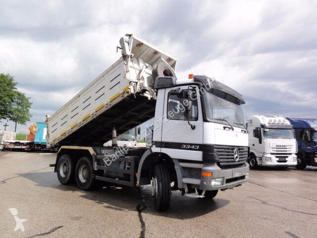 Camion Mercedes Actros 3343_6x4_manuell_3-S.-Kipper