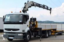 camion Renault Premium 420 Pritsche 7,90 m KRAN + Rotator!