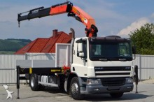 ciężarówka DAF CF 75.250 Pritsche 6,90 m + KRAN Top Zustand!
