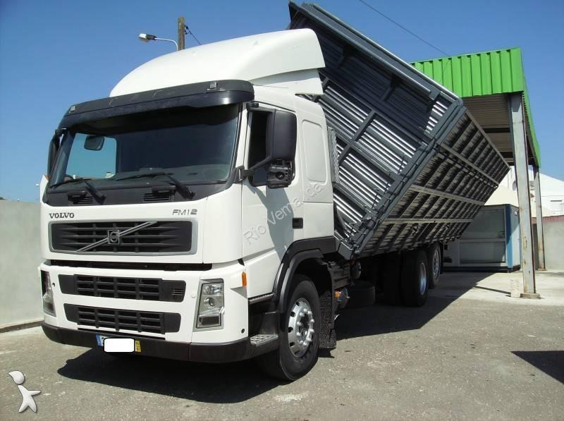 camion volvo benne fm12 420 euro 3 occasion n 2054682. Black Bedroom Furniture Sets. Home Design Ideas