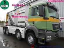 camion MAN TGS 35.440 8x4 Knick+Schub 25t. Haken Schalter