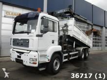 camión MAN TGS 26.430 6x4 Hiab 16 ton/meter Kran