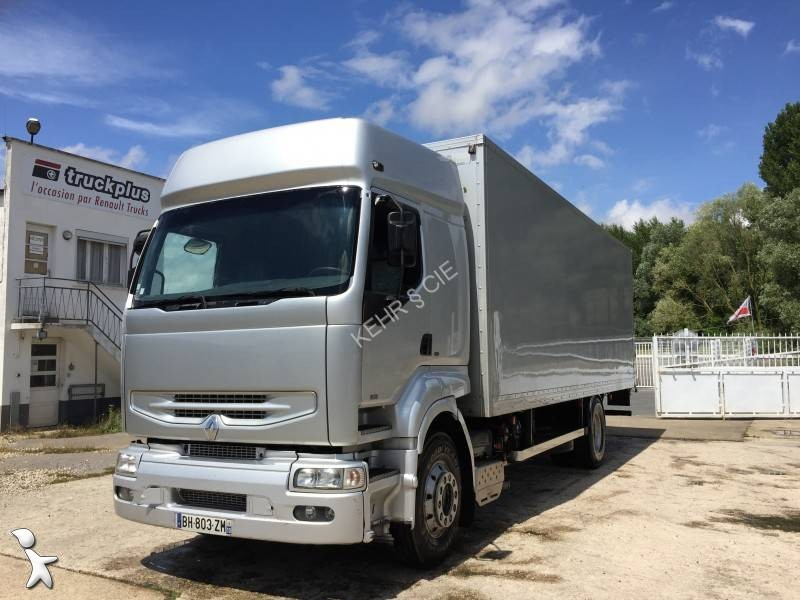 camion fourgon polyfond occasion renault premium gazoil hayon annonce n 2058613. Black Bedroom Furniture Sets. Home Design Ideas