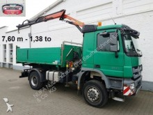 camion Mercedes Actros 3 1844/4x4, PK 12001-A 7,67m-1,38 to Funk