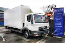 camión MAN LE 8.180C 4x2 Koffer Blatt / Luft mit LBW + TÜV