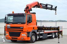 ciężarówka DAF CF 85.380 Pritsche 6,00 m + KRAN * Top Zustand!