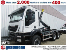 camion Iveco Trakker AD 260T41 6x4, Abrollanlage HYVA Titan