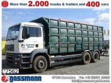 camion MAN TGA 26.413 6x4 mit Kran Jonsered 1020 Tempomat
