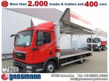 camion piattaforma trasporto bibite MAN