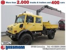 Unimog 437/25 U4000, mit Kran Hiab 099XS B-2, Funk