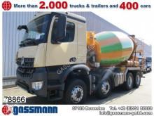 camión Mercedes Arocs 3240B8x4, Liebherr HTM 904 9m³ Tempomat