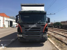 camion système bâchage coulissant Scania