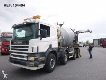 camión Scania P114.380 FULL STEEL MIXER EURO 3