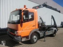 camião Mercedes Atego 918K 4x2 918K 4x2 mit Kran Hiab 066