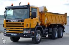 camión Scania 114 340 * Kipper 5,10 m * 6x4 * Bordmatic!