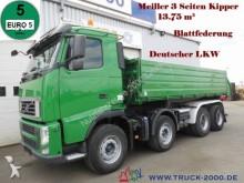 camion Volvo FH13 430 8x4 Meiller Deutscher LKW Blattfederung