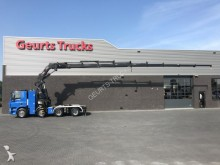 camión Ginaf X 4241 S 8X4 TREKKER + HIAB XS 800-9