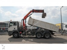 camion MAN TGS 26.360 6x4 TIPPER WITH PALFINGER PK 15500 CR
