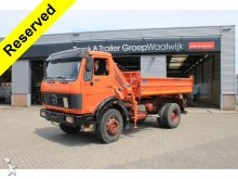 camion Mercedes AK 1622 Crane & 3 sided tipper
