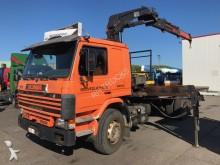 camión Scania P92 6X2 MET HIAB 2070 RW
