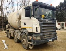 camion calcestruzzo betoniera mescolatore + pompa Scania