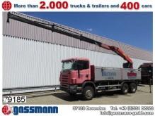 camión Scania 124C420 6x4 Blatt-Blatt, Retarder, Palfinger