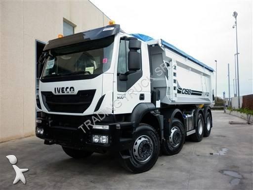 camion iveco benne trakker 410 t 50 euro 6 neuf n 2079304. Black Bedroom Furniture Sets. Home Design Ideas
