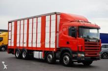 ciężarówka do transportu zwierząt Scania