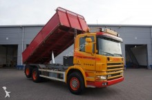 camion Scania 124-360 Manual Kipper 6x2 Full Steel 1998