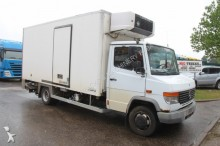 camión Mercedes Vario 814D - FRIGO CARRIER + LAMBERET BOX + LIFT