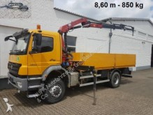 camion Mercedes Axor 1833 A/4x4/45,HMF 975 K-3 8,6m-850 kg, Funk
