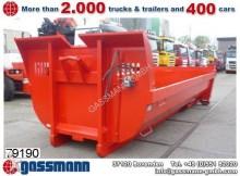 ciężarówka nc Abroll-Mulde ca. 12m³ Hardox Halfpipe, Hydr.