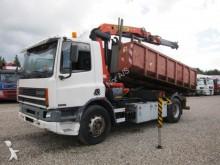 camion DAF FA75 240 ATI 4x2 Hocklift / Crane PK11000