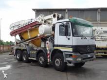 camion béton malaxeur + pompe Mercedes