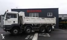 camion benna edilizia MAN