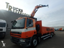 camión DAF CF 75.250 + CRANE + MANUAL